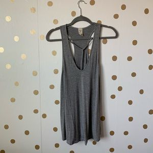 Free People Caged Front Tank